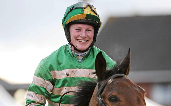 Nina Carberry (30) will be the only woman in action this time around, when she is legged up on First Lieutenant, which has come in for a flood of support