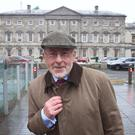 Patrick Honohan looks more like a man going to the mart to sell a few cattle than the guy who's in charge of all the money