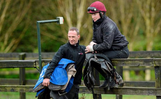 "Paul Carberry says he will be ""too busy trying to mind myself"" to watch out for his sister Nina"