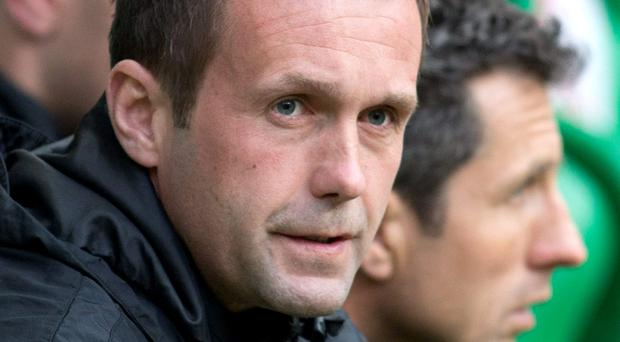 Ronny Deila's Celtic remain favourites for a clean sweep of the Scottish honours. Photo: Kirk O'Rourke/PA Wire