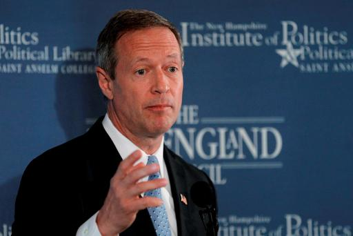 Former Maryland Governor and probable Democratic Presidential candidate Martin O'Malley. Photo: Reuters
