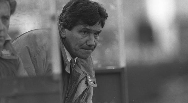 26 January 1992; Ray Treacy, Shamrock Rovers Manager, Soccer. Picture credit; David Maher/SPORTSFILE