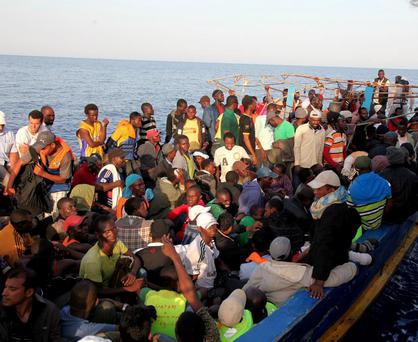 Over 10,000 migrants have arrived in Italy by sea in the last 3 months Credit: International Organization for Migration