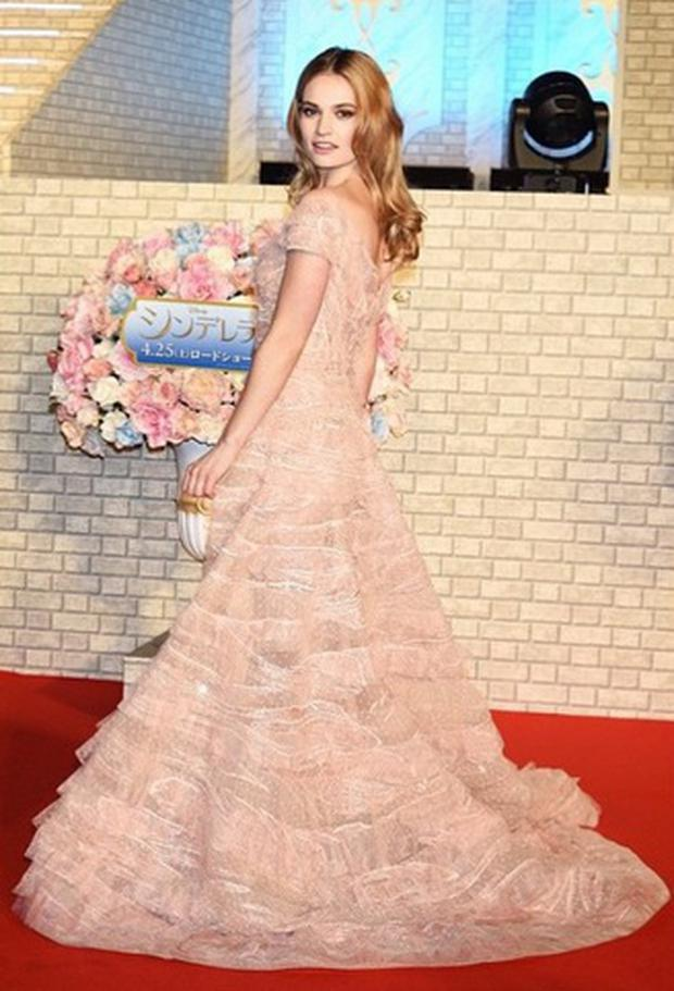 e6df2ce10e Cinderella star Lily James accused of racism after  mocking Japanese ...