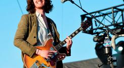 Musician Hozier performs onstage during day 2 of the 2015 Coachella Valley Music & Arts Festival (Weekend 1) at the Empire Polo Club on April 11, 2015 in Indio, California. (Photo by Kevin Winter/Getty Images)