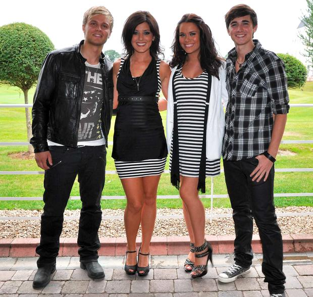 Lee Hutton, Morgan Deane, Michele McGrath, Donal Skehan of (Industry) in 2009