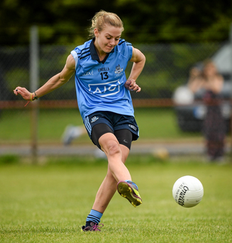 Nicole Owens netted twice for Dublin, with Noelle Healy, Hannah Noonan and Kim Flood the other goalscorers.