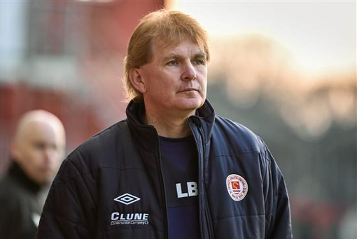 ST Patrick's Athletic manager Liam Buckley believes that overly punitive refereeing decisions are the reason for his team's poor disciplinary record (SPORTSFILE)