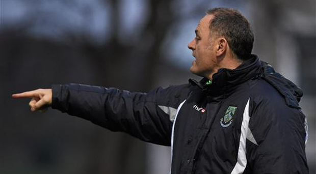 Bray had lost their first five matches before manager Alan Mathews, pictured, resigned (SPORTSFILE)