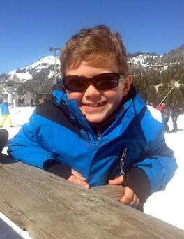 Seven-year-old Carwyn Scott-Howell, from Wales, who died when he fell from a cliff edge after losing his way in the Alpine resort of Flaine on Friday. Family Handout/PA Wire