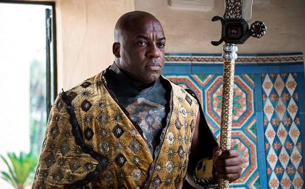Deobia Opaeri as Areo Hotah in Game of Thrones