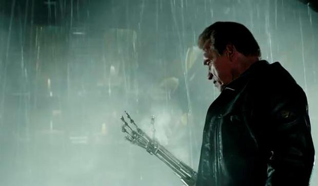 Arnie in the new Terminator Genisys trailer