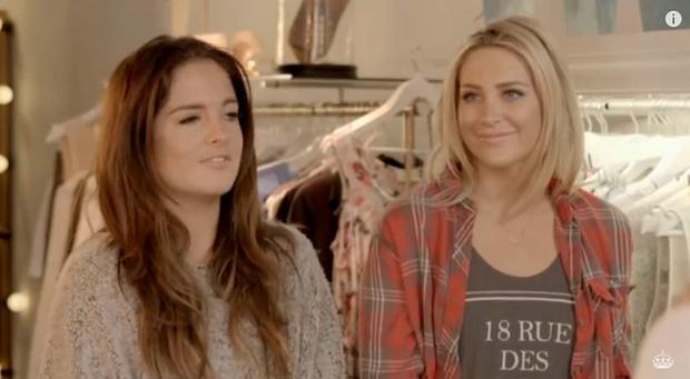 Binky Felstead and Stephanie Pratt discuss Nichola Hughes on Made in Chelsea