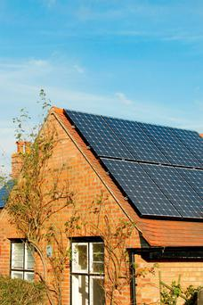 Although a conventional oil or gas heating system is not needed, you will still need a 'back-up' heating system for the winter, which can be provided by a ground source heat pump or solar thermal panels
