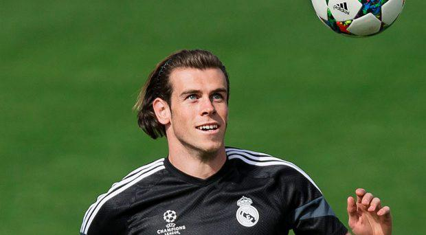 Real Madrid's Gareth Bale