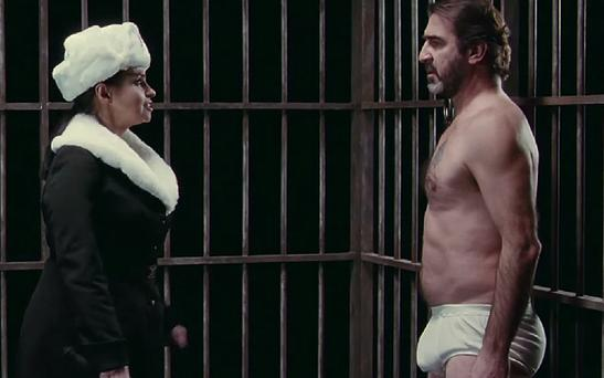 Eric Cantona in his new film