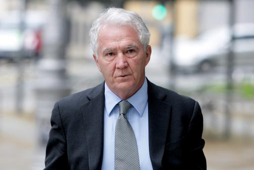 Sean FitzPatrick at court yesterday