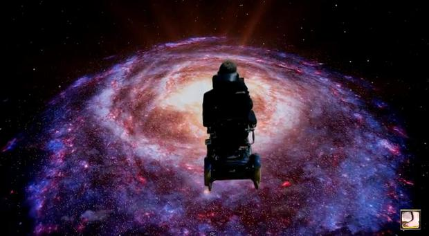 Stephen Hawking covers Monty Python Galaxy Song