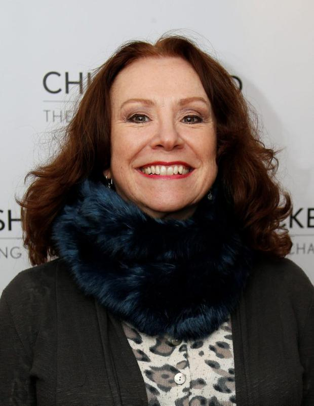 Melanie Hill attends the Chickenshed Theatre Companys 40th anniversary celebration performance of Peter Pan, Enfield, London. Jonathan Brady/PA Photos.