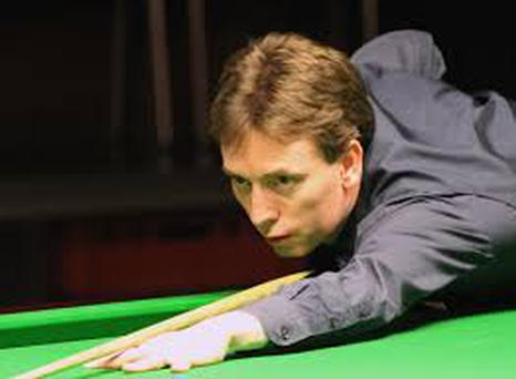 Ken Doherty trails Mark Davis 8-1 after the first session of the World Championship third-round qualifier at Sheffield.