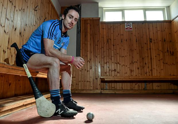 Dublin's Ryan O'Dwyer in attendance at an Allianz Hurling League Media Day. Nowlan Park, Kilkenny