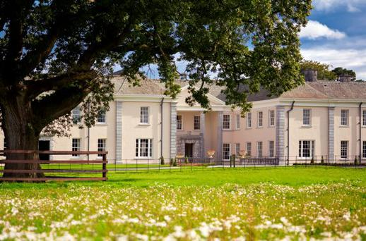 The exterior of Castlemartyr Resort