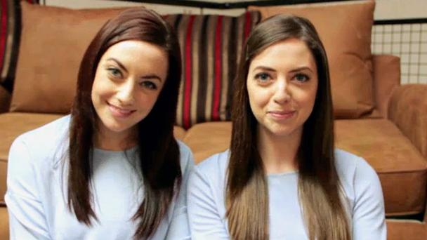 Niamh Geaney and Karen Branigan, who are twin strangers