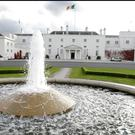 The upkeep of the grounds at Áras an Uachtaráin has cost €1.4m since 2012. Photo: Steve Humphreys
