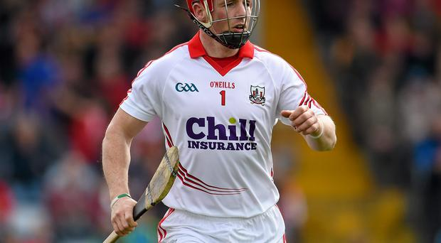 The change in the hurling penalty arose from the controversy that followed Anthony Nash's ground-grabbing skills, which often took the Cork goalkeeper (pictured) as close as the 13-metre line before making the strike