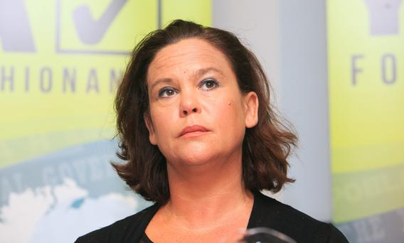 Mary Lou McDonald faced criticism from the Tánaiste
