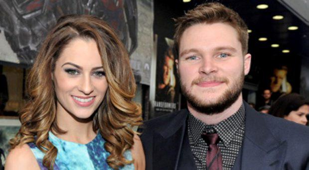 Madeline Mulqueen and Jack Reynor attends the Irish Premiere of