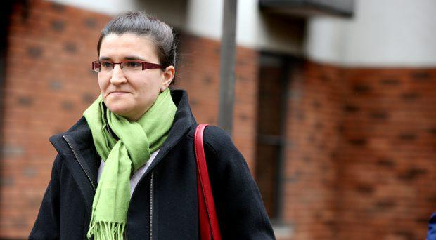 Former Dunnes Stores worker Anna Perenc pictured
