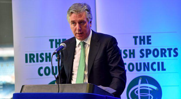 John Delaney, Chief Executive of the FAI