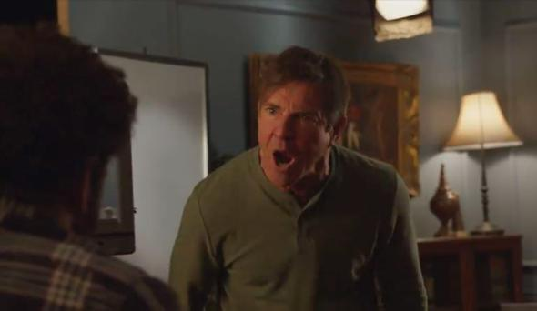 Dennis Quaid in full rant mode