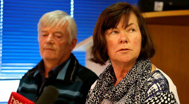 Marian and John Buckley, parents of missing girl Karen Buckley