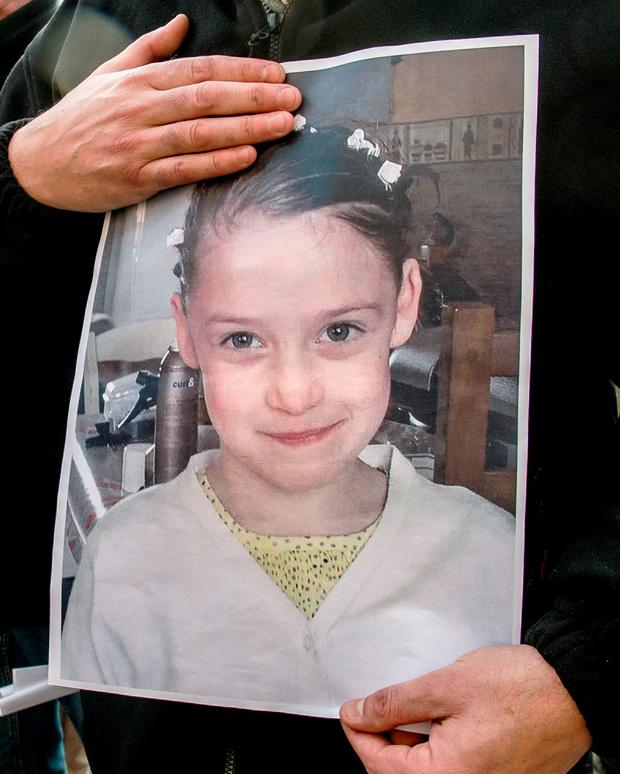 Chloe's naked, lifeless body was found in a woods. Photo: AFP/Getty Images
