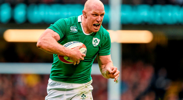 Paul O'Connell in action for Ireland RBS Six Nations Rugby Championship, Wales v Ireland, Millennium Stadium, Cardiff, Wales. Picture credit: Brendan Moran / SPORTSFILE...ABC