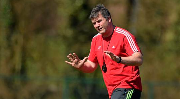 Anthony Foley has his sights set on a vital home semi-final in the Pro12 (SPORTSFILE)