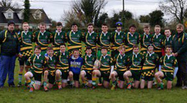 West Offaly Lions from Ferbane overcame a tough challenge from Longford on Sunday in the Leinster U-15 Division 2 final in front of a large crowd at Edenderry