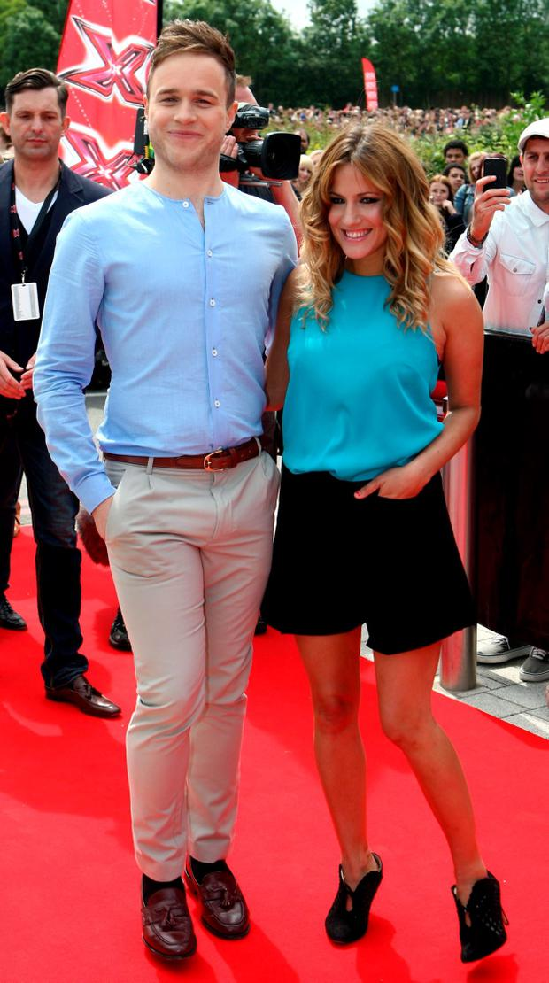 Olly Murs and Caroline Flack Credit: David Jones/PA Wire