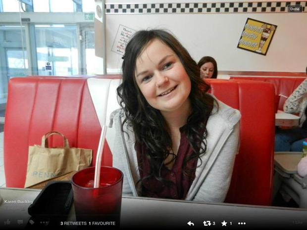 Karen Buckley, 24, from Mourneabbey, south of Mallow in Cork, and her friends arrived at Sanctuary nightclub in Dumbarton Road, Glasgow, at around 11.45pm on Saturday 11/04/2015