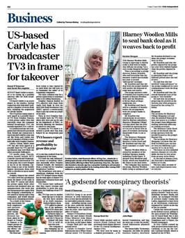 The business pages of today's Irish Independent