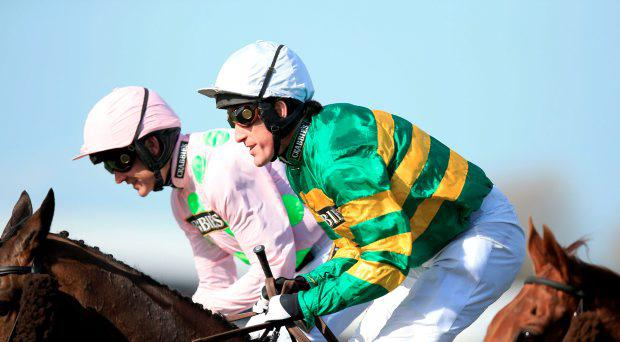 Tony McCoy (centre)