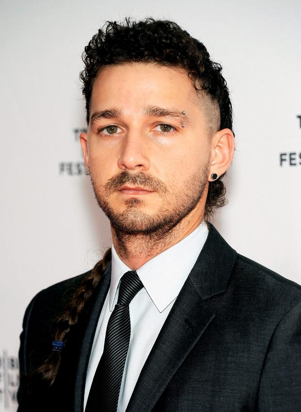 We Need To Talk About Shia Labeoufs New Rat Tail Hairdo