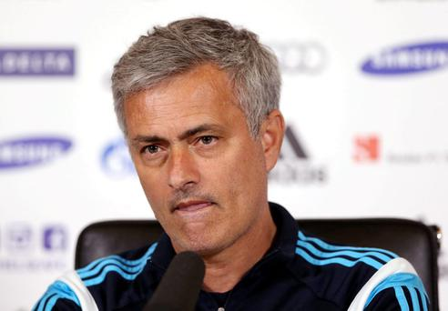 Chelsea manager Jose Mourinho during the press conference today Action Images via Reuters / Matthew Childs Livepic