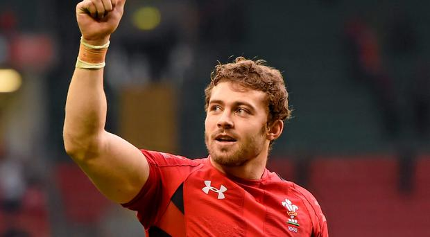 Welsh star, Leigh Halfpenny, suffered a reported minor dislocation of the joint in last Saturday's win over Grenoble and has taken a limited part in training this week