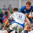 Leinster will need proven ball-carriers like Jordi Murphy, above against Bath, to take the game to Toulon