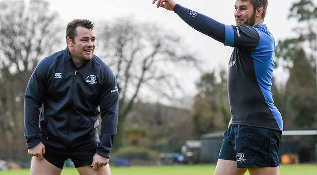 Leinster will want the now resurgent Cian Healy and Sean O'Brien to get them over the gainline, and from there they can play