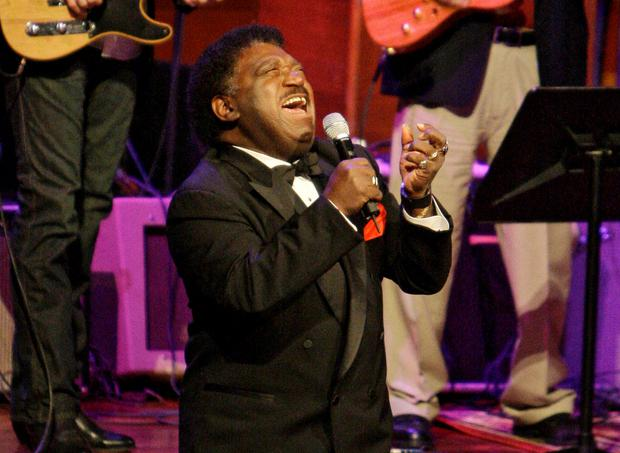 SOUL STAR: Percy Sledge enjoyed a 40-year career