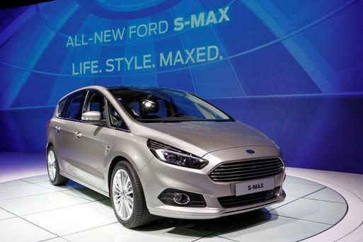 LIVING LIFE TO THE MAX: The new Ford S-MAX, featuring some impressive new technology, will arrive here in September